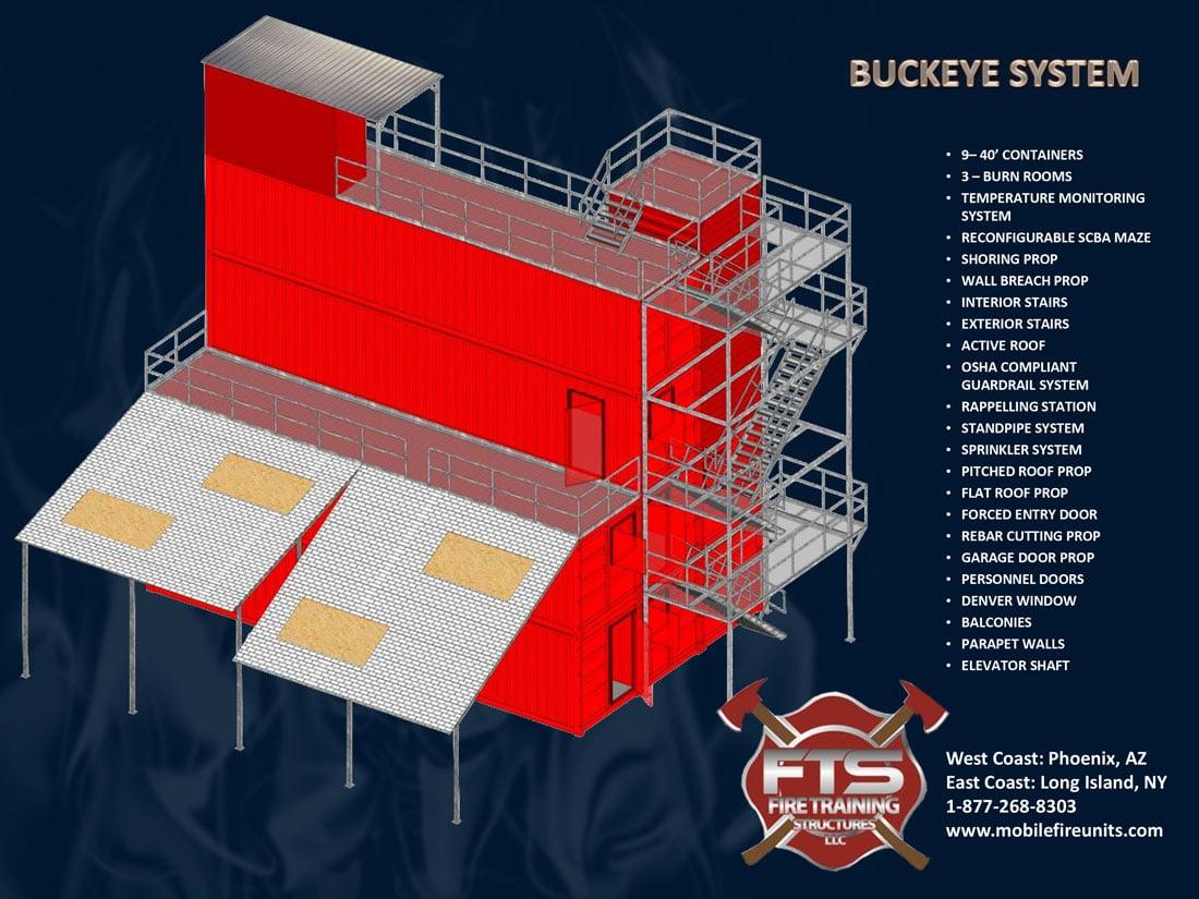 Buckeye Fire Training Structure