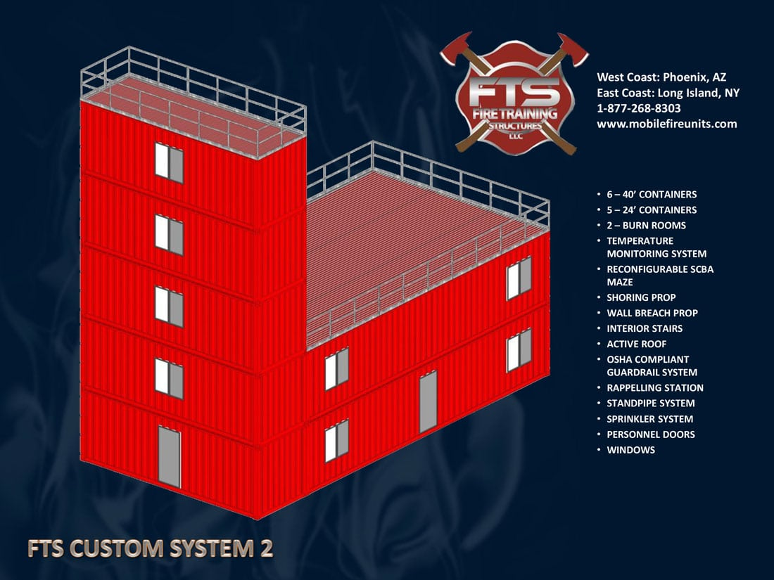 Custom Fire Training Props #2 | Fire Training Structures LLC