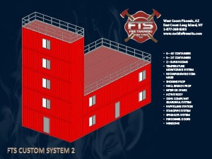 Stationary Training Structures for Fire Service Professionals | Mobile Fire Units