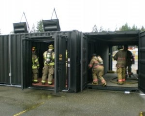 Open Bay Burn Firefighter Training Props | Fire Training Structures LLC