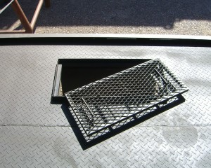 Image Of A Grated Vent Prop Disassembled