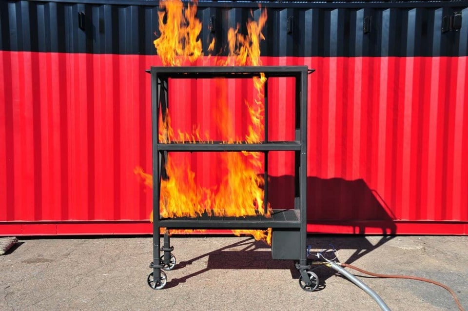 LPG Fueled Live Fire Training Props | Fire Training Structures