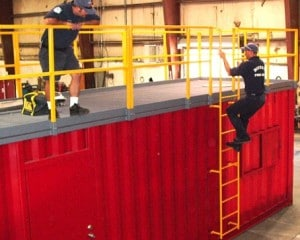 SCBA Space Maze Fire Training Props | Fire Training Structures LLC