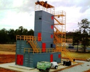 Tallassee System Multiple Story Structure Fire Training Simulator Fire Training Structures LLC