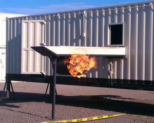 Aircraft LPG Fire Simulator Training Props | Fire Training Structures LLC
