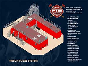 Fire Training Mobile Structures for Fire Service Professionals | Mobile Fire Units