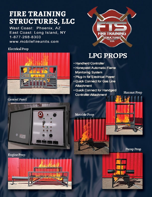 Fire Training & LPG Props for Fire Service Professionals | Mobile Fire Units