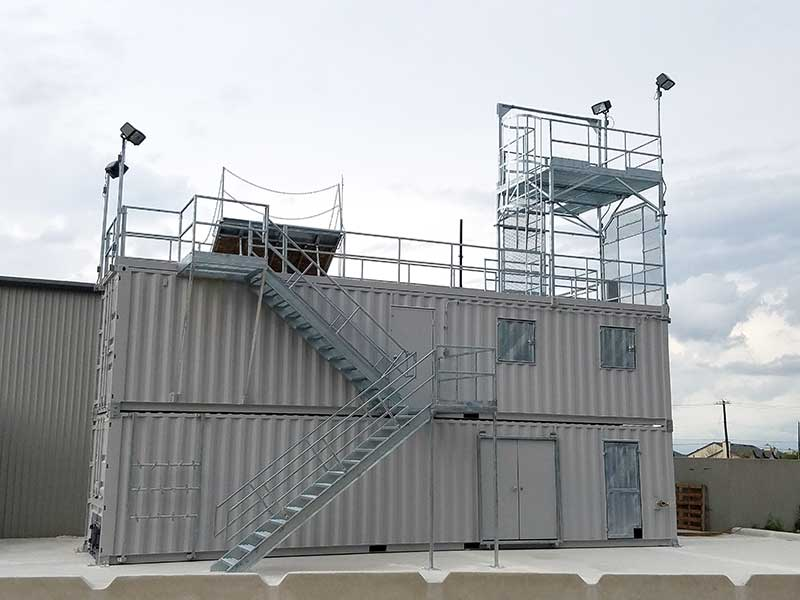 Stacked Fire Training Systems & Props | Fire Training Structures LLC