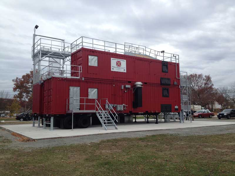 East Providence Firefighter Training System | Fire Training Structures LLC
