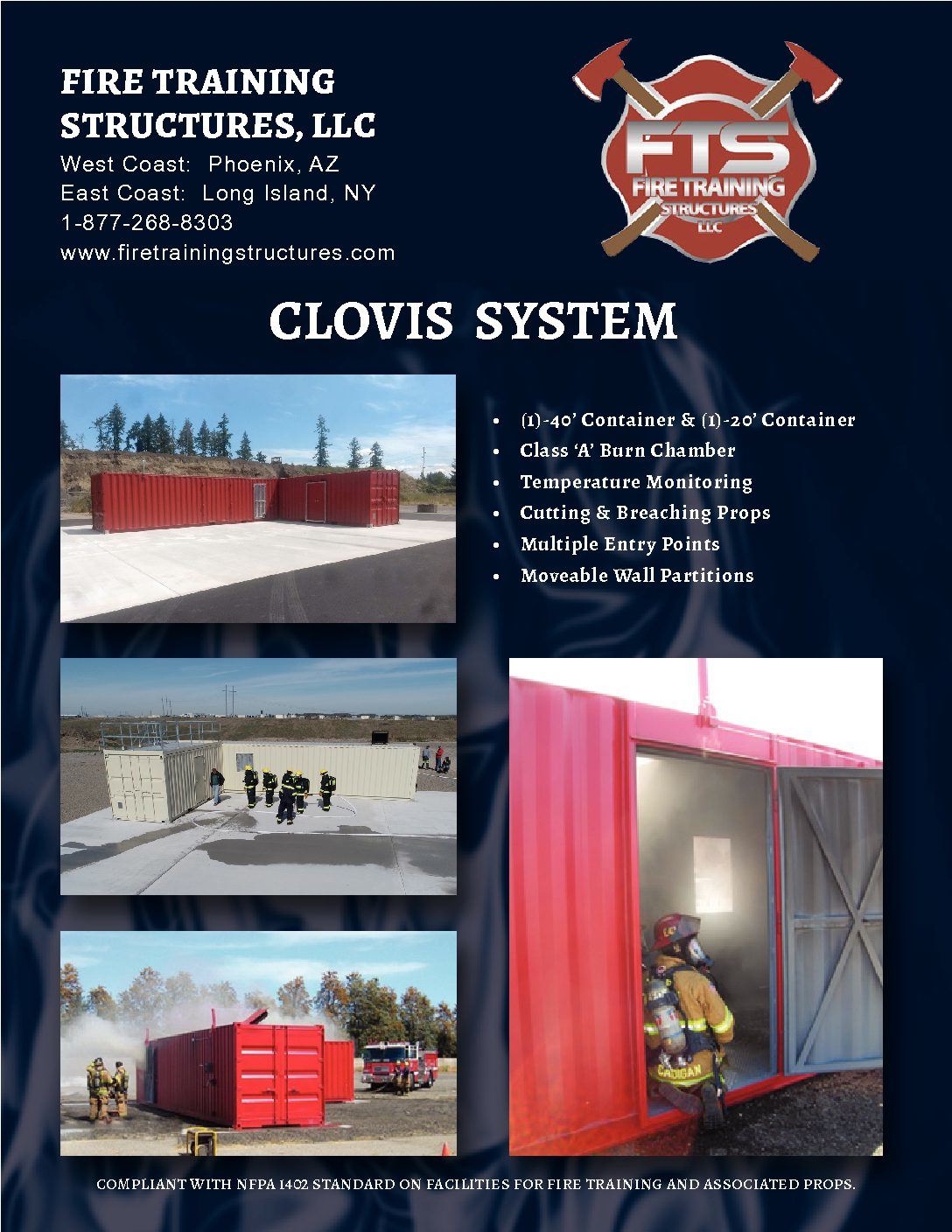 Image of a brochure of Clovis System