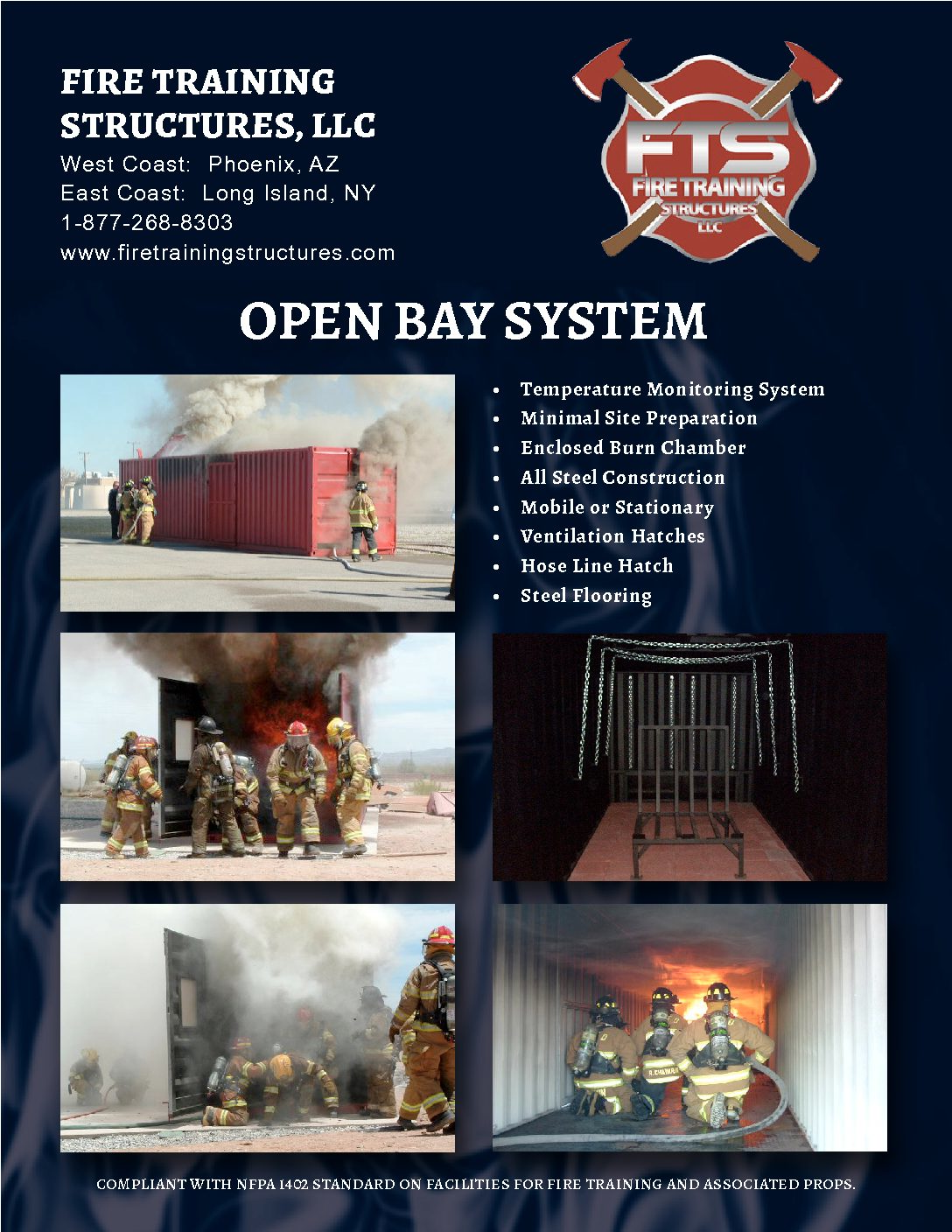 Image of a brochure of the open bay system