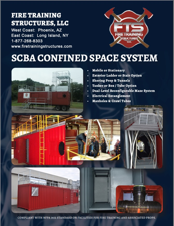 Image of a brochure of SCBA Maze Confined Space System
